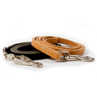 12mm wide leather leashes